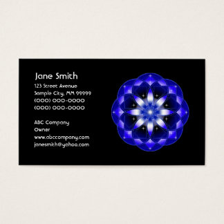 Cosmic Flower Business Card