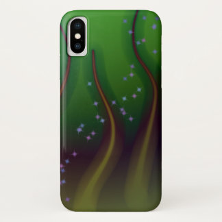 Cosmic Forest iPhone X Case