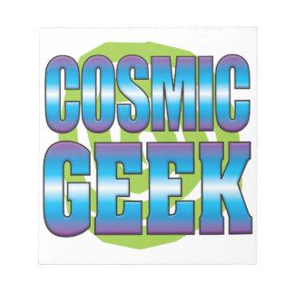 Cosmic Geek v3 Memo Notepad
