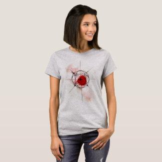 Cosmic Geometry Red T-Shirt