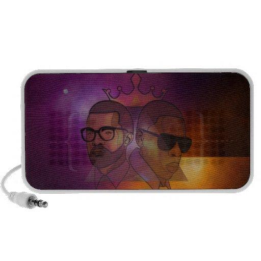 Cosmic Gods Laptop Speakers