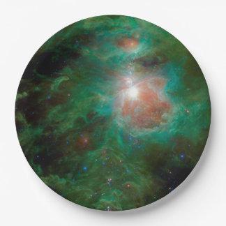 Cosmic Hearth Paper Plate
