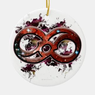 Cosmic Infinity Christmas Ornament
