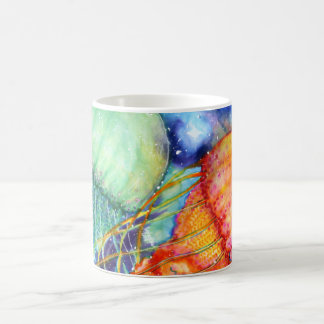 Cosmic Jellyfish Coffee Mug