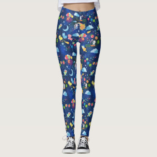 Cosmic Kawaii Leggings