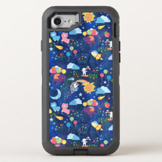 Cosmic Kawaii OtterBox Defender iPhone 8/7 Case