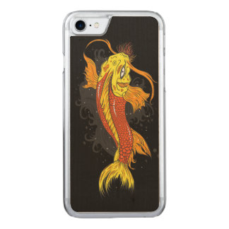 Cosmic Koi Carved iPhone 8/7 Case
