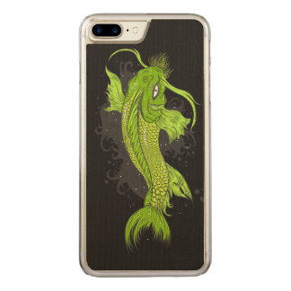 Cosmic Koi Carved iPhone 8 Plus/7 Plus Case