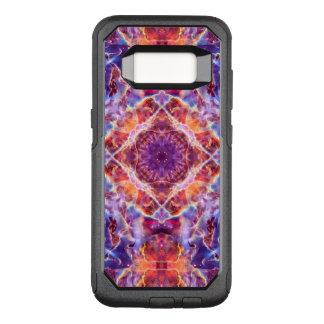 Cosmic Lightning Cross Mandala OtterBox Commuter Samsung Galaxy S8 Case