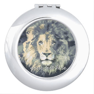 COSMIC LION KING | Custom Compact Mirror