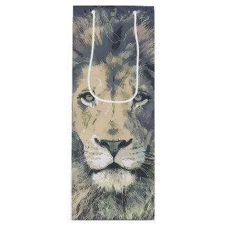 COSMIC LION KING | Custom Gift Bag- Wine Wine Gift Bag