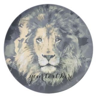 COSMIC LION KING | Custom Melamine Plate