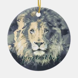 COSMIC LION KING | Custom Ornament