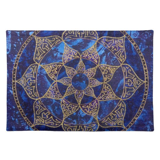 Cosmic Lotus Placemat