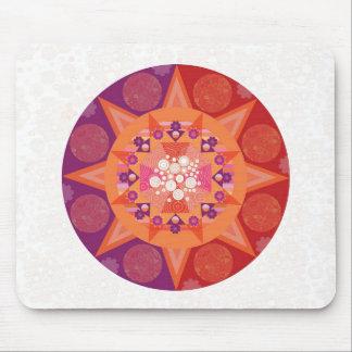 Cosmic mandala mouse mat