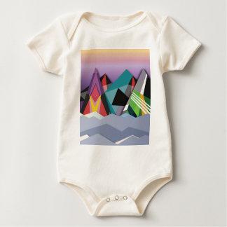 Cosmic Mountains.jpg Baby Bodysuit