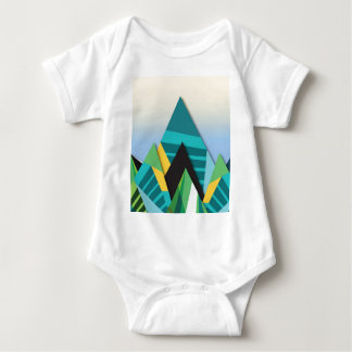Cosmic Mountains No. 2.jpg Baby Bodysuit