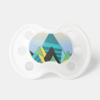 Cosmic Mountains No. 2.jpg Baby Pacifier