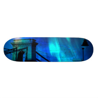 Cosmic Night in Budapest Skate Deck