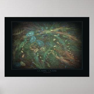 Cosmic Ocean Print
