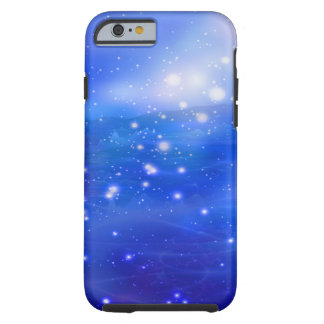 Cosmic Peace (blue) Tough iPhone 6 Case