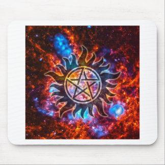 Cosmic Pentagram Mouse Pad
