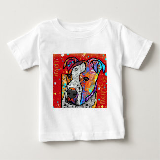 Cosmic Pit Bull - Bright Colorful - Gift Idea Tee Shirt