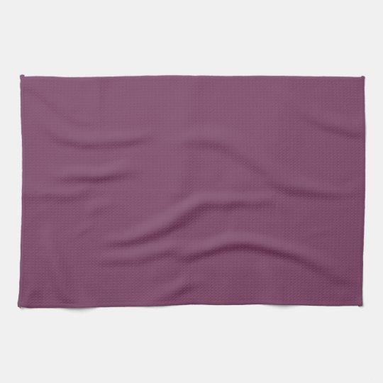 Cosmic Plum Mauve Purple Kitchen Towels