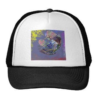 Cosmic Purple Fetus Fun Mesh Hats