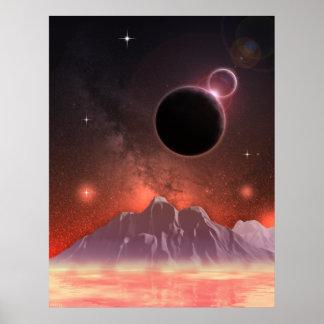 Cosmic Range 3 Print