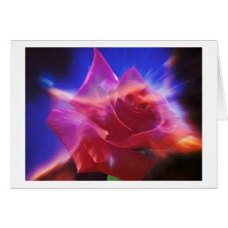 Cosmic Rose Card