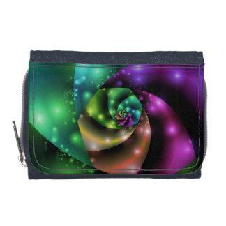Cosmic Rose Fractal Wallet