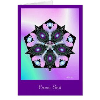 Cosmic Seed Card