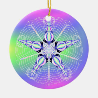 Cosmic Seed RePHIning Christmas Ornament