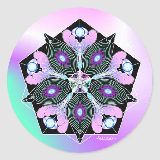Cosmic Seed Round Stickers