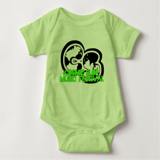 Cosmic Slop Music Fest Baby Romper Baby Bodysuit