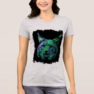 cosmic Space Lynx | galactic Wild Cat T-Shirt