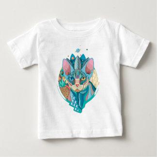 Cosmic Sphynx Cat Baby T-Shirt
