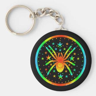 Cosmic Spider Keychain
