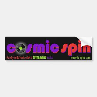 Cosmic Spin Bumper Sticker