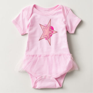 Cosmic Star Heart Baby Bodysuit