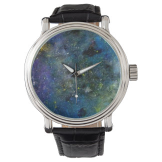 Cosmic starry sky  orion galaxy milky way cosmos watch
