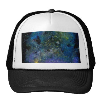 Cosmic starry sky - orion or milky way cosmos trucker hats