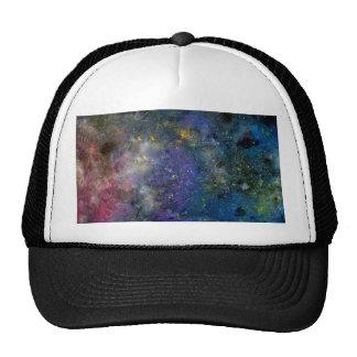 Cosmic starry sky - orion or milky way cosmos trucker hat