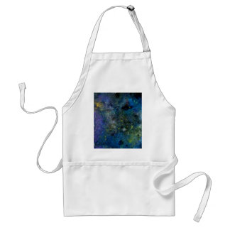 Cosmic starry sky - orion or milky way cosmos standard apron