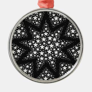 Cosmic stars christmas ornament