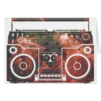 Cosmic Stereo Greeting Card