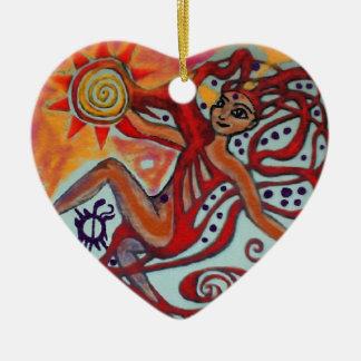 Cosmic Sunshine Christmas Ornament