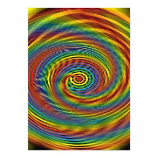 Cosmic Swirl Card