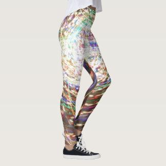Cosmic Swirl Leggings by Artist C.L. Brown